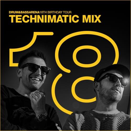 Drum&BassArena 18th Tour Australia – Technimatic Mix