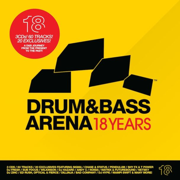 Drum&BassArena 18 Years: Coming Of Age