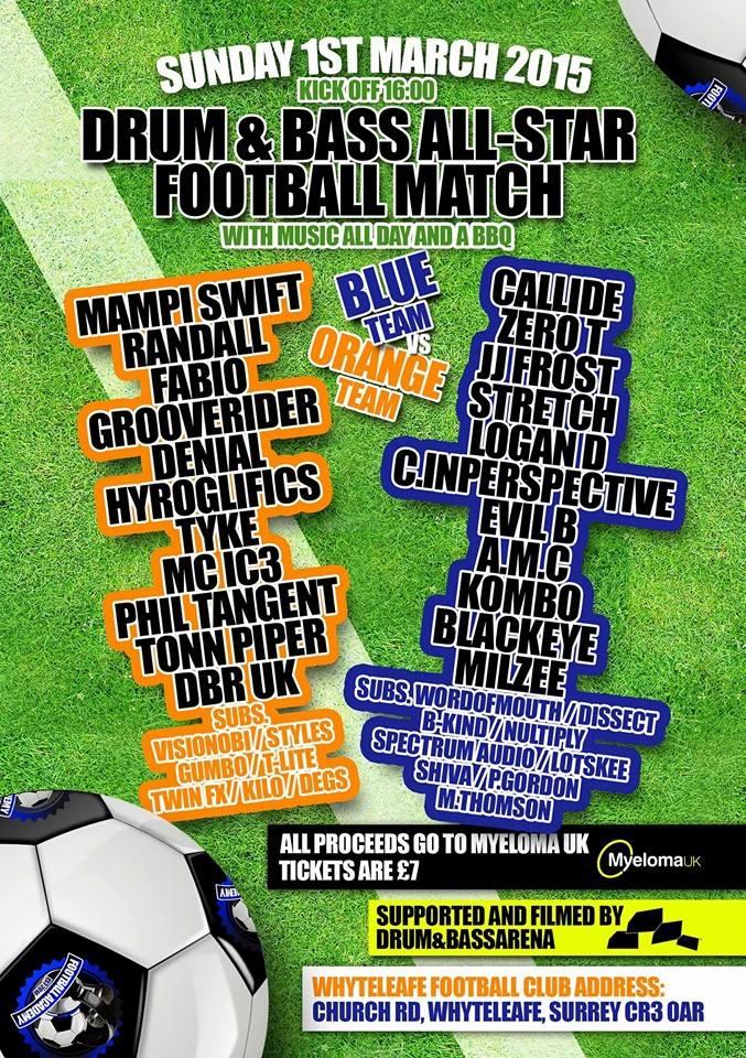 Myeloma Football Match