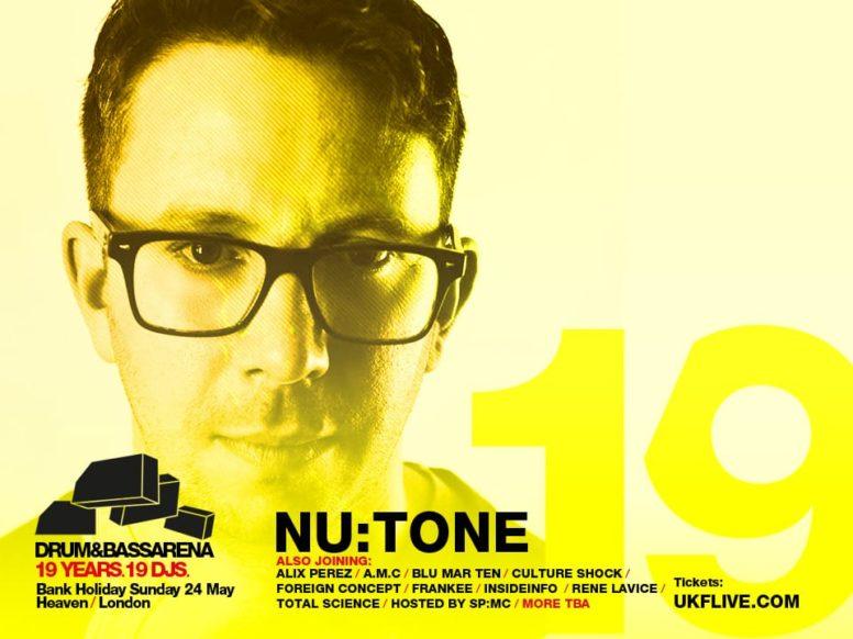 Drum&BassArena 19 Years: Nu:Tone