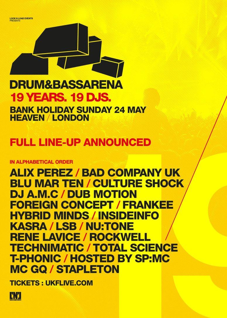 Drum&BassArena 19 Years
