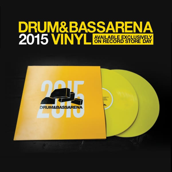 Drum&BassArena 2015 Vinyl: Available Exclusively On Record Store Day!