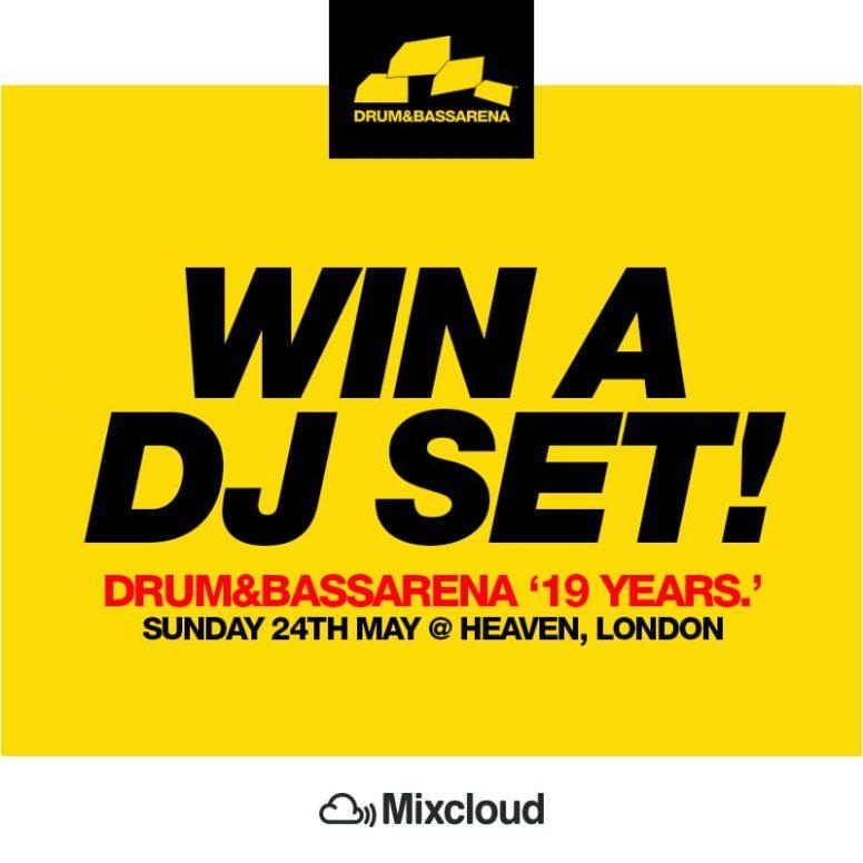 DJ COMP: Win a set at Drum&BassArena 19 Years