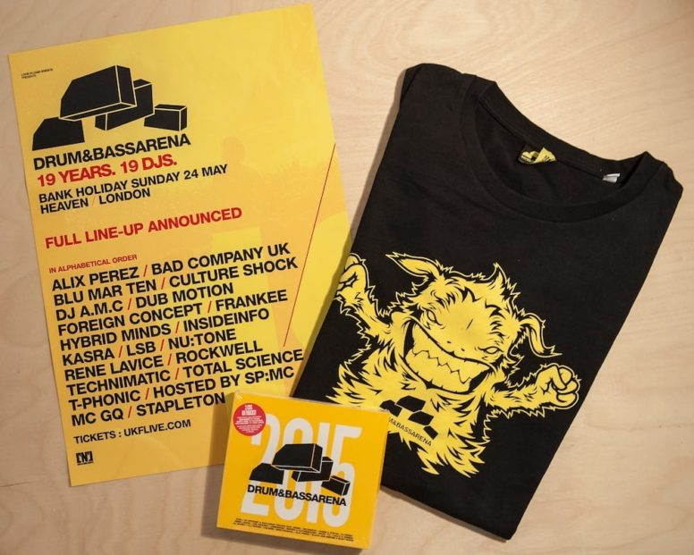 Drum&BassArena 19 Years Comp: Win A VIP Package!