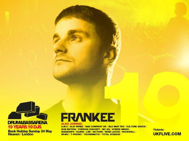 Drum&BassArena 19 Years: Frankee's Top 19