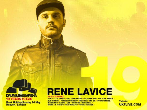 Drum&BassArena 19 Years: Rene LaVice