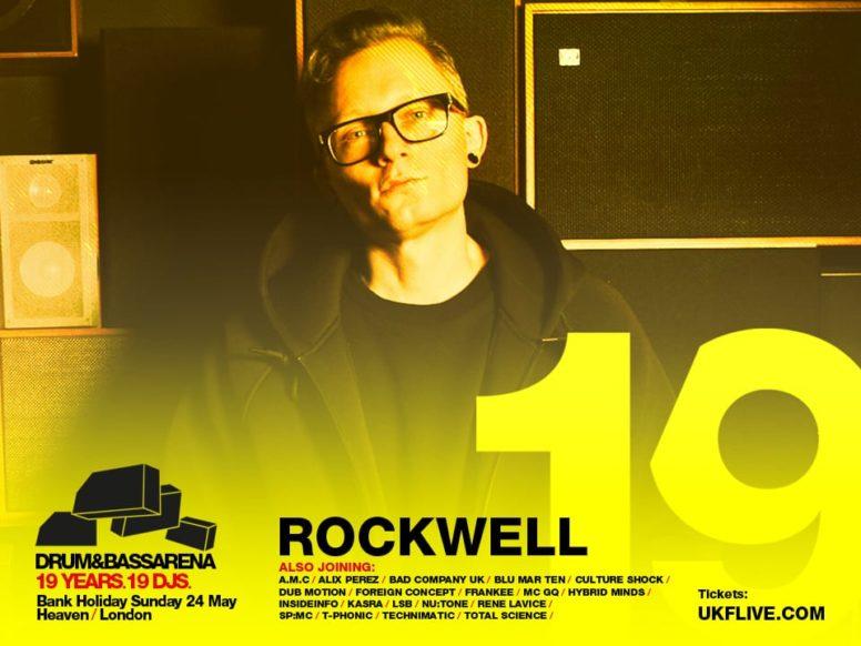 Drum&BassArena 19 Years: Rockwell's Top 10