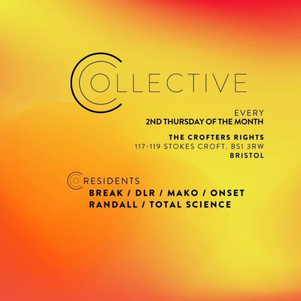 Collective Minds: Break, Total Science, DLR, Randall, Mako & Onset Launch Brand New Club Night