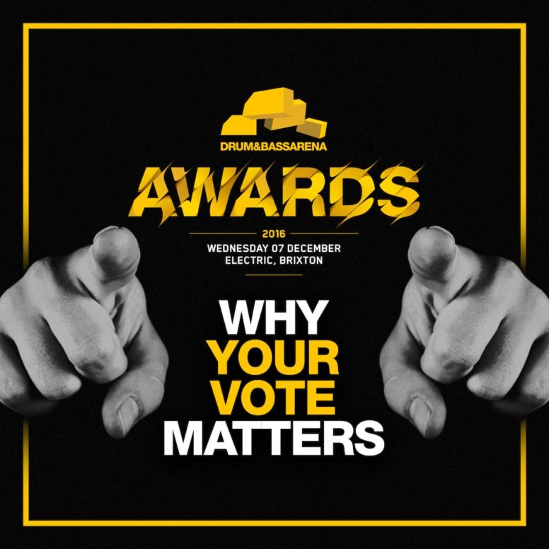 Drum&BassArena Awards 2016: Why Your Vote Matters…