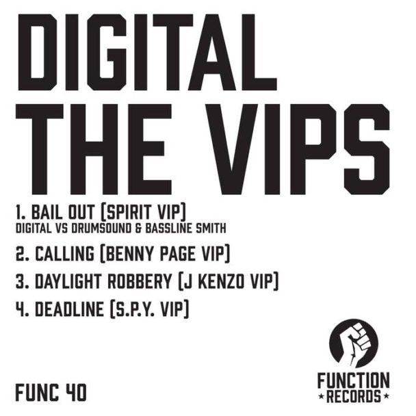 Digital vs. Drumsound & Bassline Smith – Bail Out (Spirit VIP)