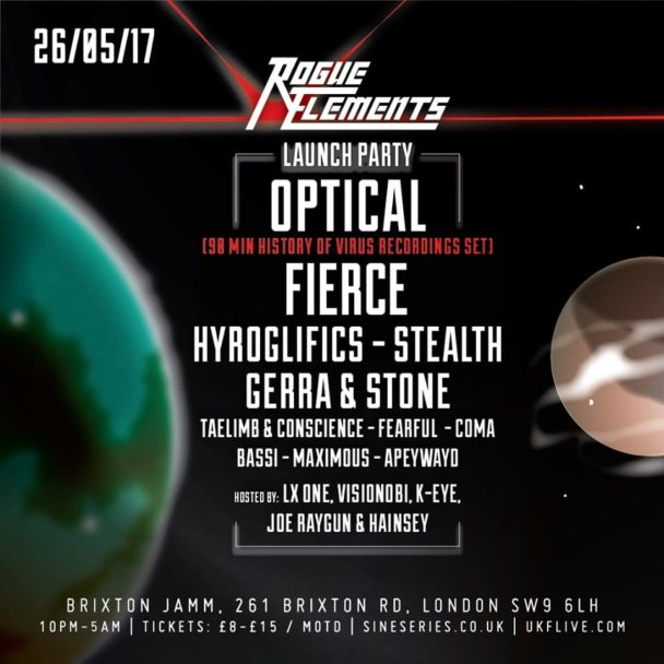 Gerra & Stone ft. Visionobi – Rogue Elements Promo Mix
